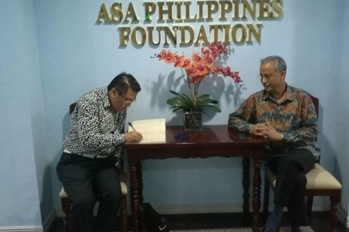 ASA PHILIPPINES EXPRESSES SUPPORT TO BFBCI UPCOMING GLOBAL ECONOMIC SUMMIT