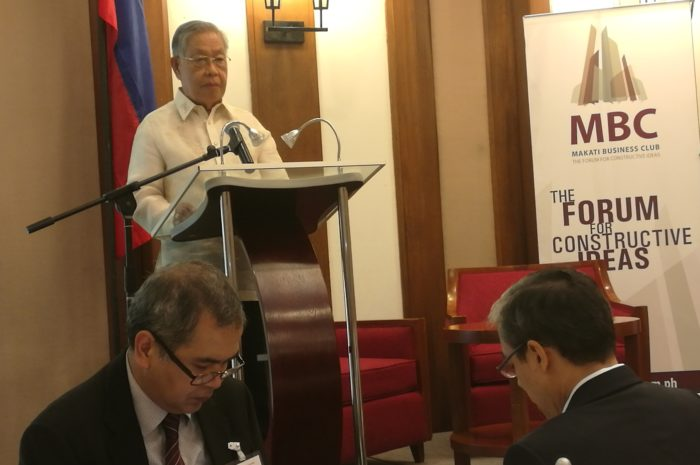 Pass BBL first before federalism, Davide, Former Chief Justice