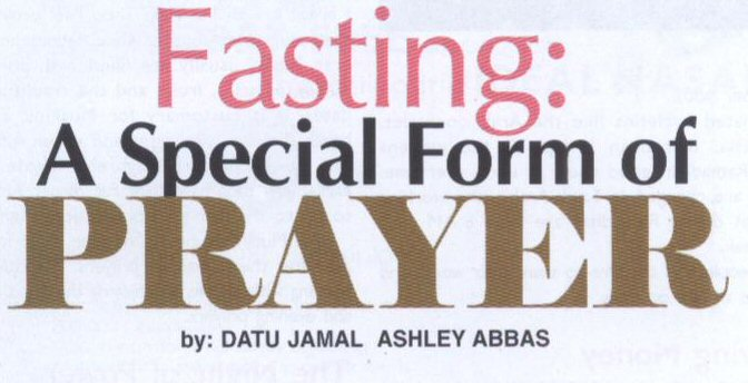 FEATURE:  Ramadhan and Fasting