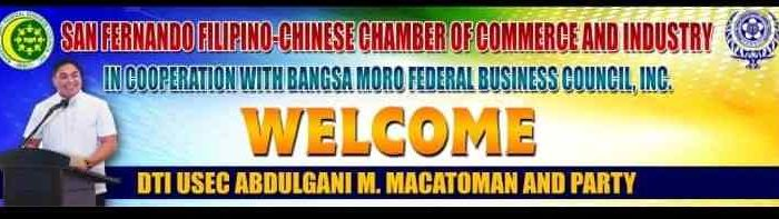 BFBCI and San Fernando Fil-Chinese Chamber of Commerce welcome Macatoman and Halal Conference