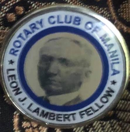 Usec. Macatoman named Leon J. Lambert Fellow of Rotary Club