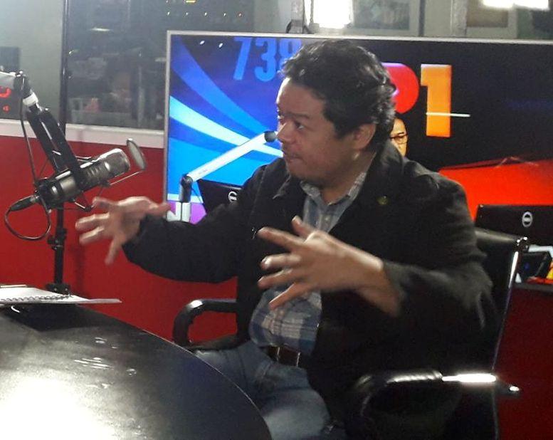 Datu Jihad Abbas talks on Salam Radio re Global Economic Summit